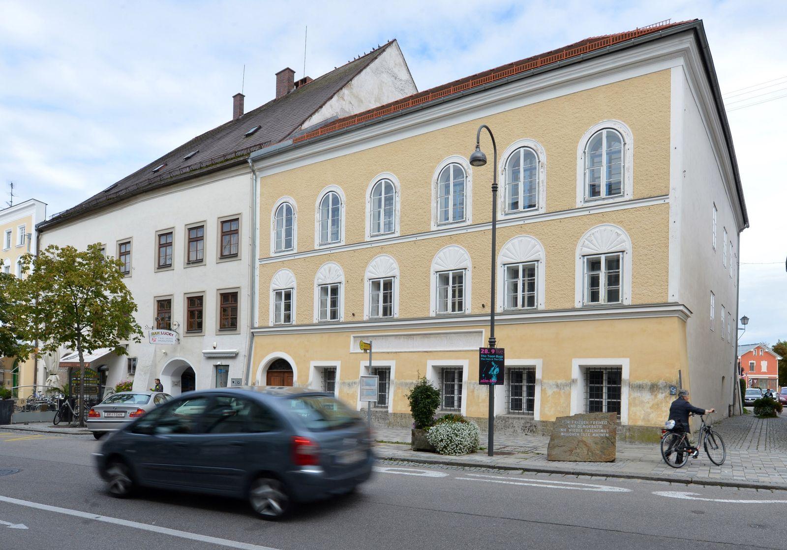 Braunau/ Hitlers Geburtshaus