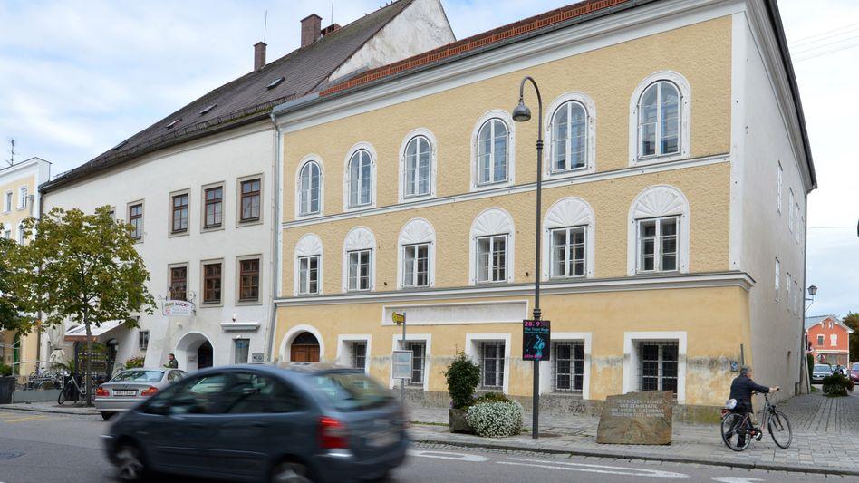Hitlers Geburtshaus in Braunau am Inn