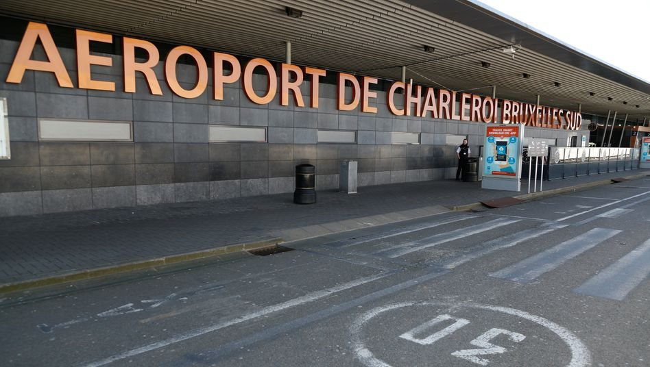 Der Flughafen Charleroi