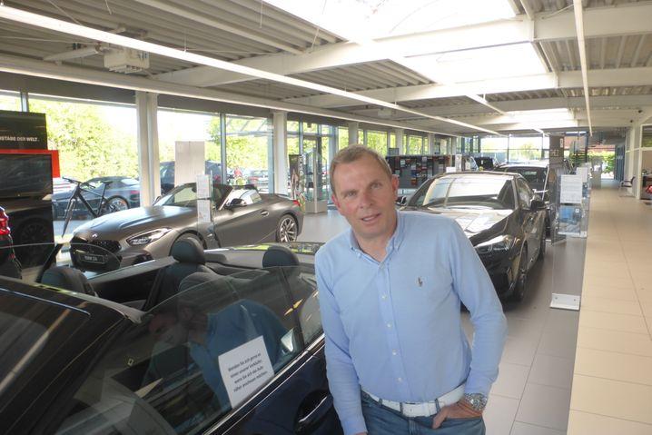 Peter Wiesbrock, Verkaufsleiter bei BMW Boomers in Ahaus