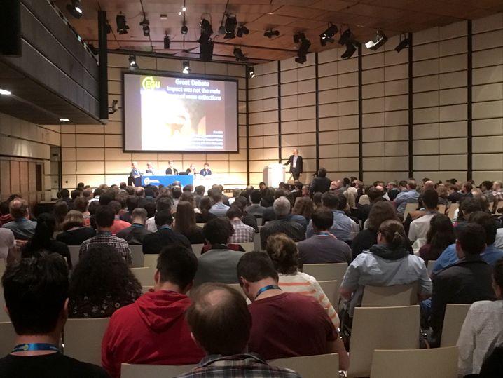 """""""Große Debatte"""" auf der EGU-Tagung"""