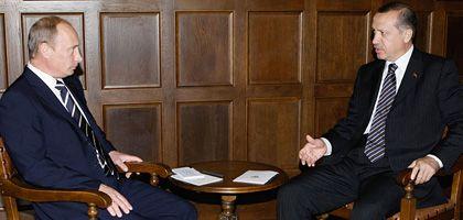 Ministerpräsidenten Putin und Erdogan: Alternative Allianz