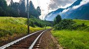 Österreich malt Schienen weiß an