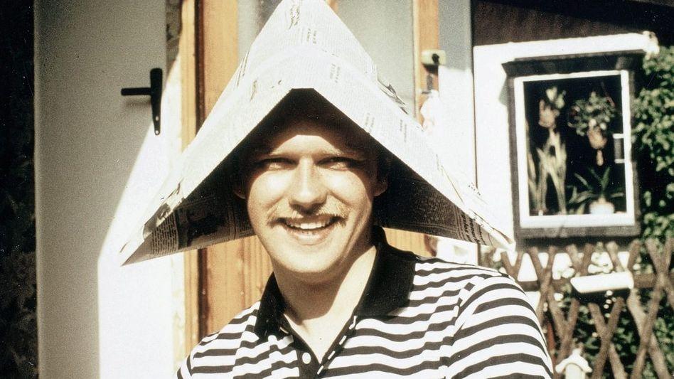 Uwe Klußmann beim Urlaub in der DDR