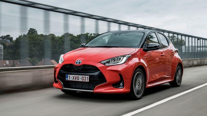 Toyota Yaris - Sprit sparen auf Kosten des Kofferraums