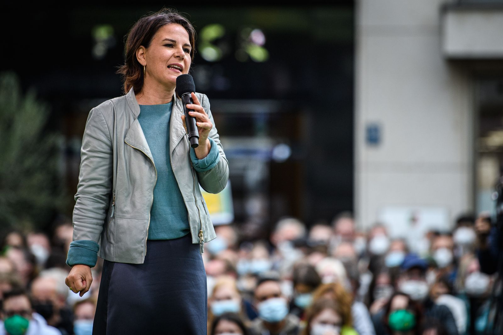 Greens Party Holds Closing Election Campaign Rally In Dusseldorf