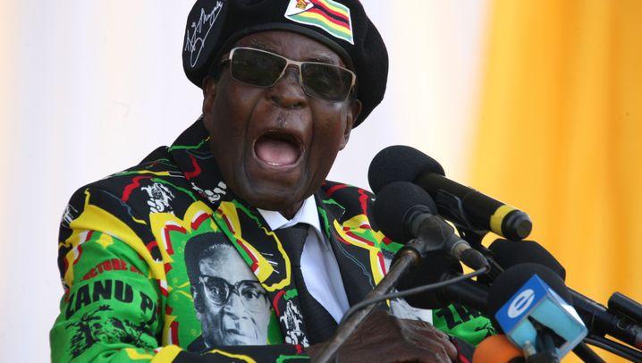 Robert Mugabe: Der greise Gewaltherrscher