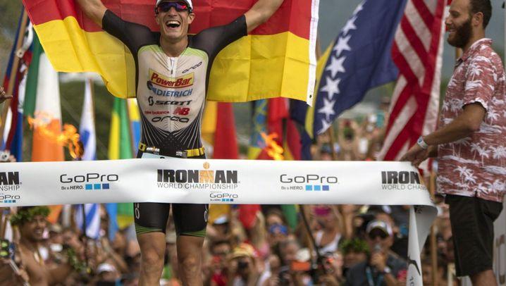 Triumph für deutschen Eisenmann: Aufholjagd auf dem Rad