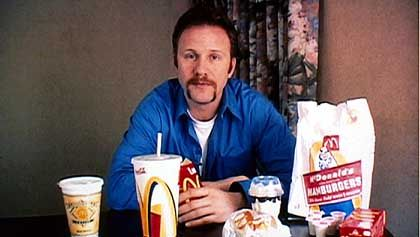 Proband Spurlock: Burger bis zum Erbrechen