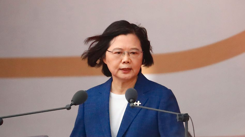 Taiwans Präsidentin Tsai Ing-wen: Peking biete »weder ein freies und demokratisches Leben noch Souveränität«