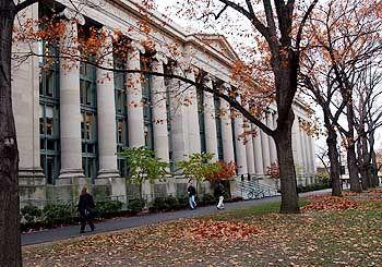 Campus in Harvard: Freiheit für die Lehre