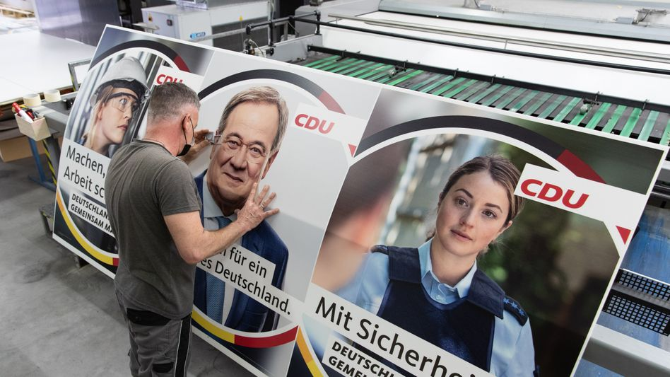 CDU-Wahlplakate: Welche Gesellschaft soll das abbilden?