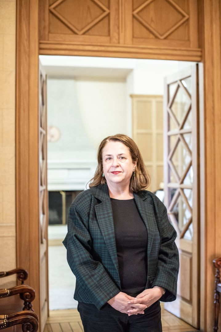 """Professorin Dimitra Papadopoulou-Klamaris: """"Essenziell war der altruistische Gedanke"""""""