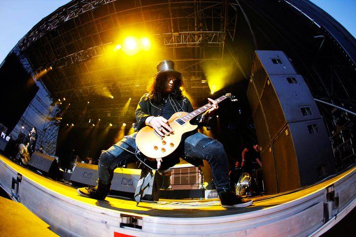 Slash von Guns N' Roses