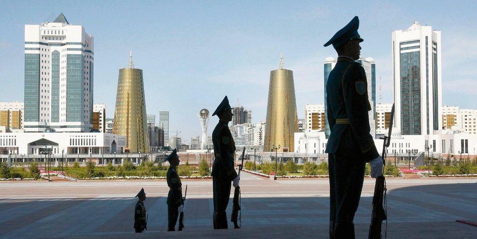 Kasachische Hauptstadt Astana