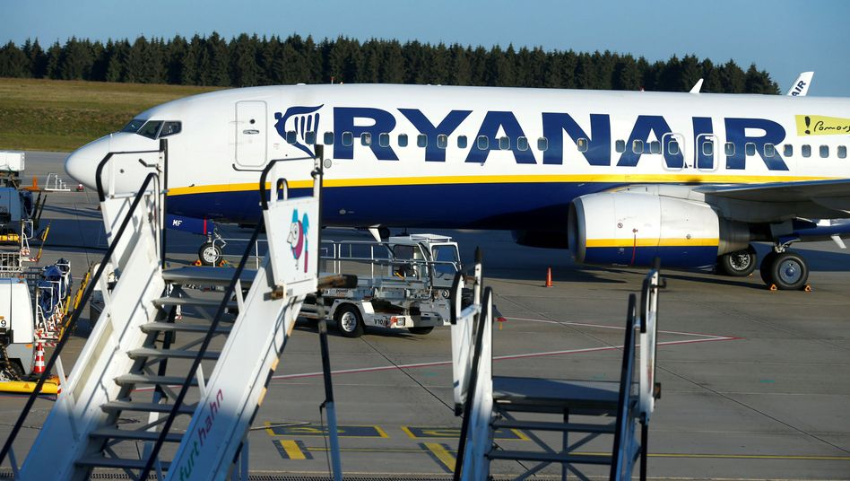 Ryanair-Maschine in Frankfurt (Symbolbild)
