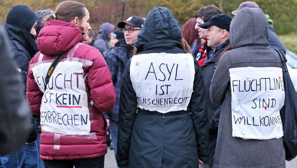 Demo in Schneeberg: Eine Stadt kämpft um ihren Ruf