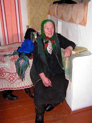 Hanna Semenenko says she's basically fit in spite of the local radiation.