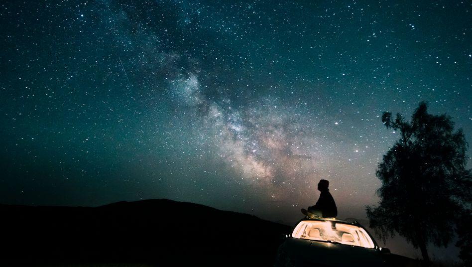 Blick in den Sternenhimmel: »Immer neue und zunehmende Bewunderung und Ehrfurcht«