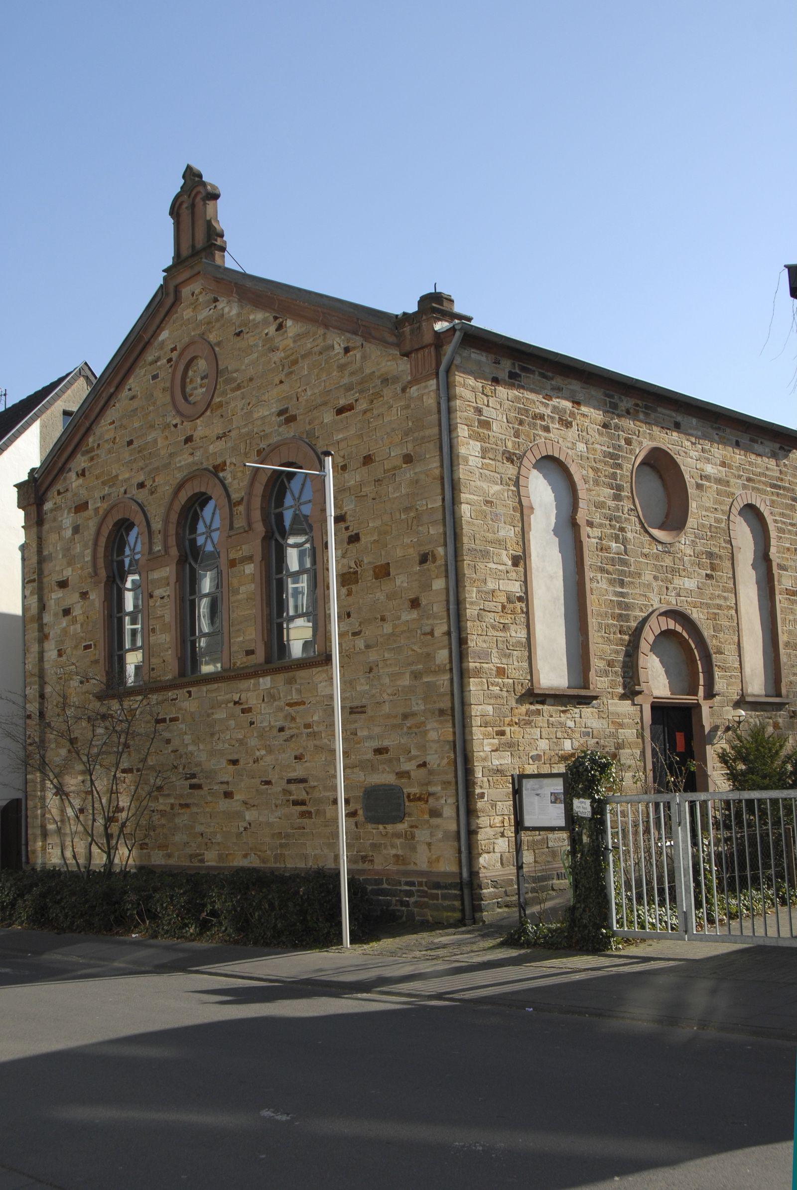 Ahrweiler: ehemalige, im maurischen Stil errichtete Synagoge (1894 eingeweiht, 1938 geschaendet, heute fuer kulturelle Zwecke genutzt)
