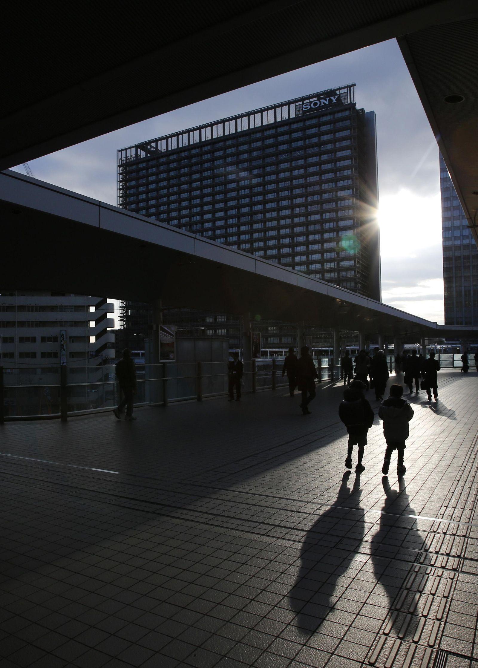 Sony Gebäude Tokio