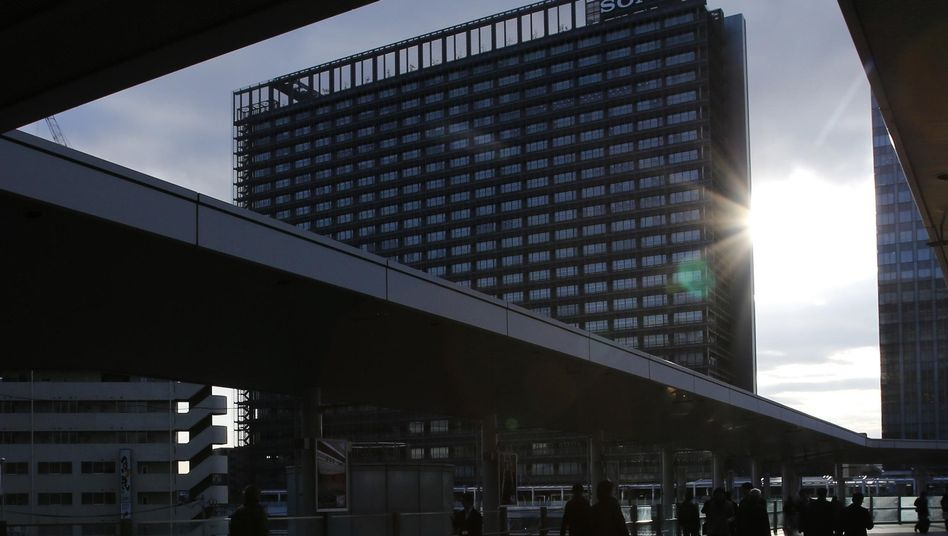 Sony-Hochhaus in Tokio: Bis zu 868 Millionen Euro