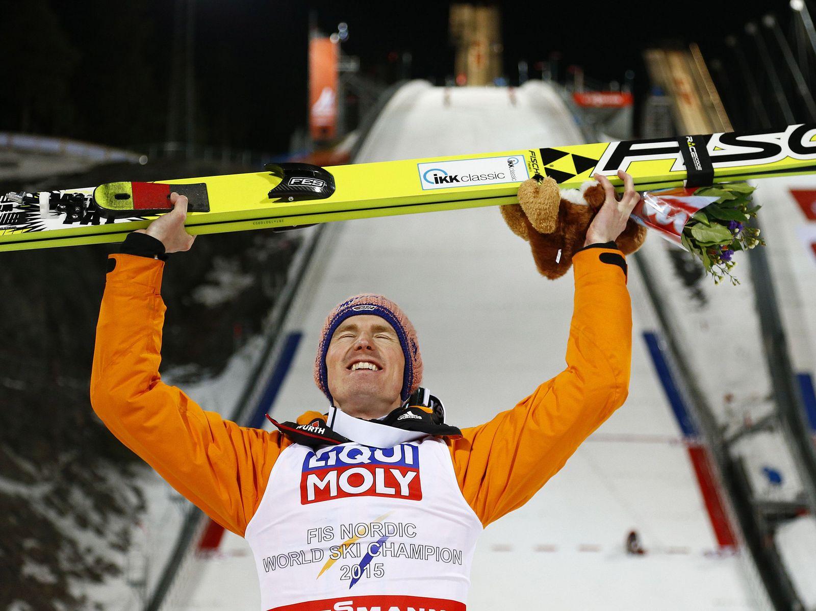 Sweden Nordic Skiing Worlds
