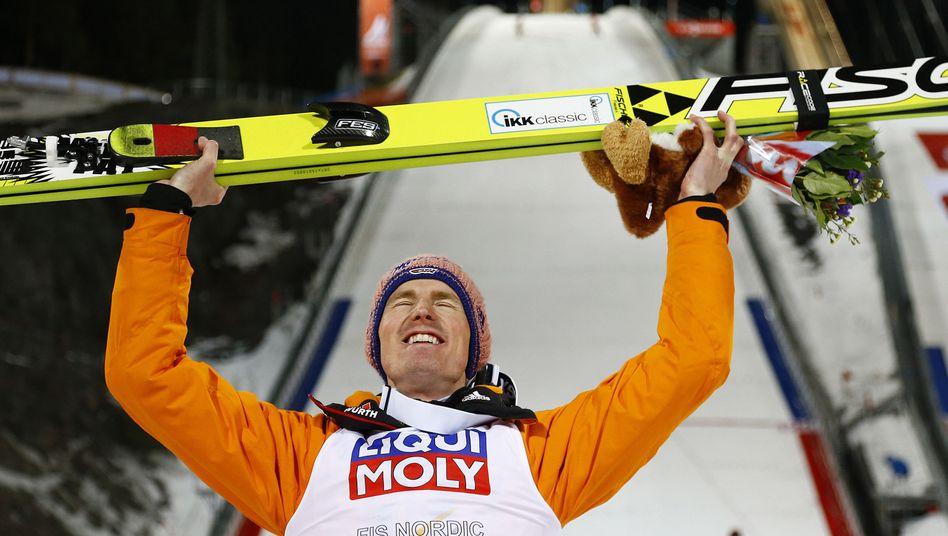 Skispringer Freund: Weltmeister von der Großschanze