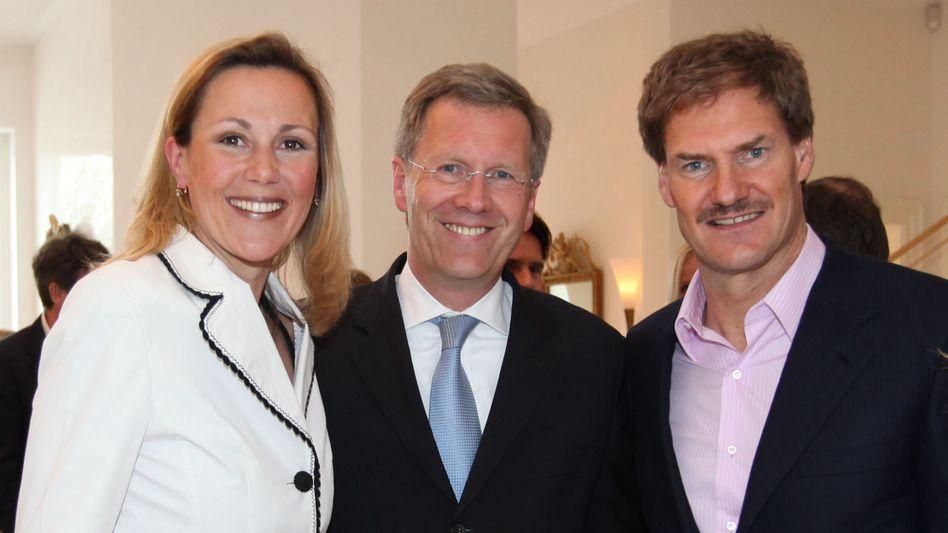 Befreundetes Paar Wulff mit Maschmeyer: Mallorca-Luxusurlaub in Villa der Unternehmers