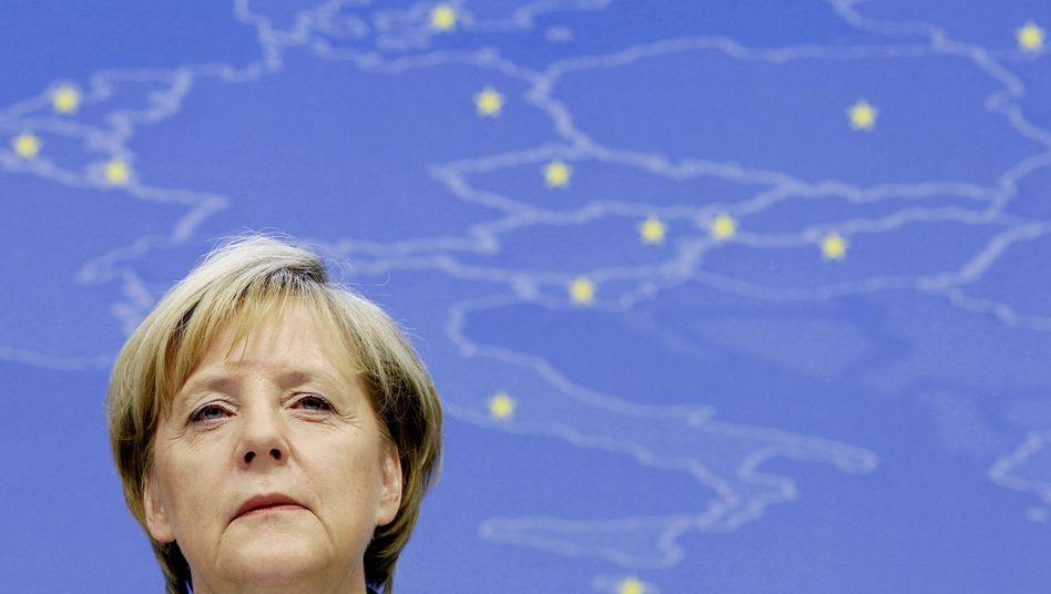 """Kanzlerin Merkel: """"Wir müssen schneller werden"""""""