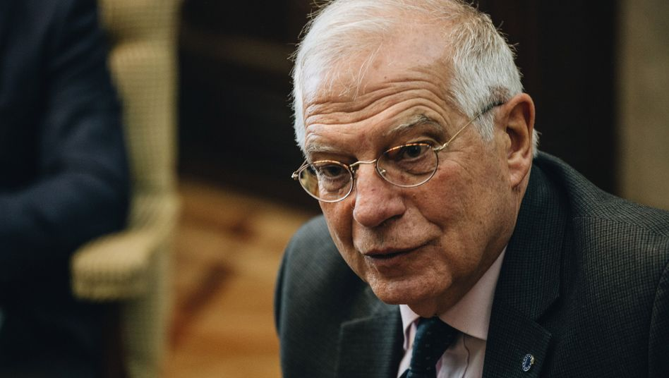 "EU-Chefdiplomat Josep Borrell: ""Überall nur Krisen"""