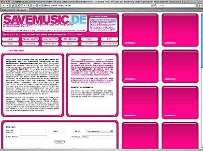 "Initiative ""Savemusic.de"": ""Arroganz stinkt zum Himmel"""