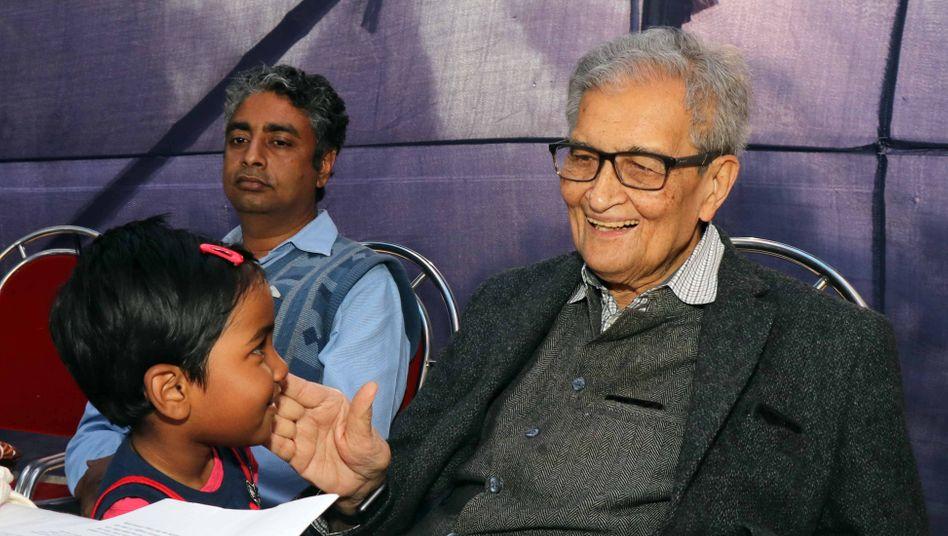 Der Friedenspreis es deutschen Buchhandels geht an Amartya Sen
