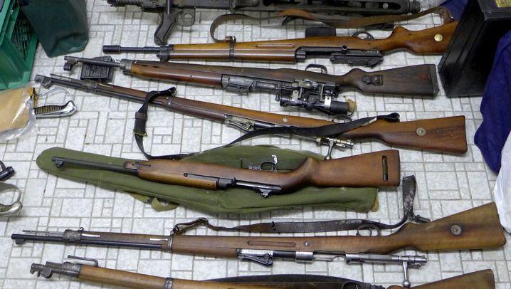 Illegaler Waffenmarkt in Deutschland: Das sind ihre Antworten