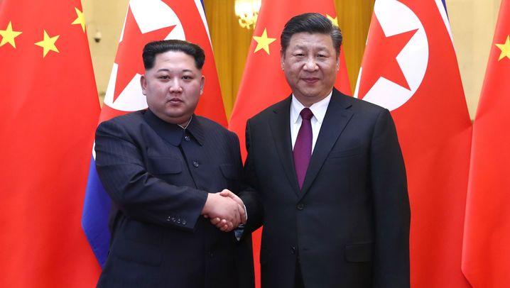 Kim Jong Un: Vier inoffizielle Tage in Peking