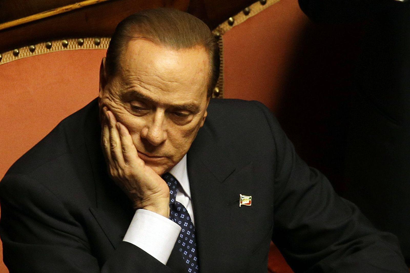 Berlusconi/ Italien