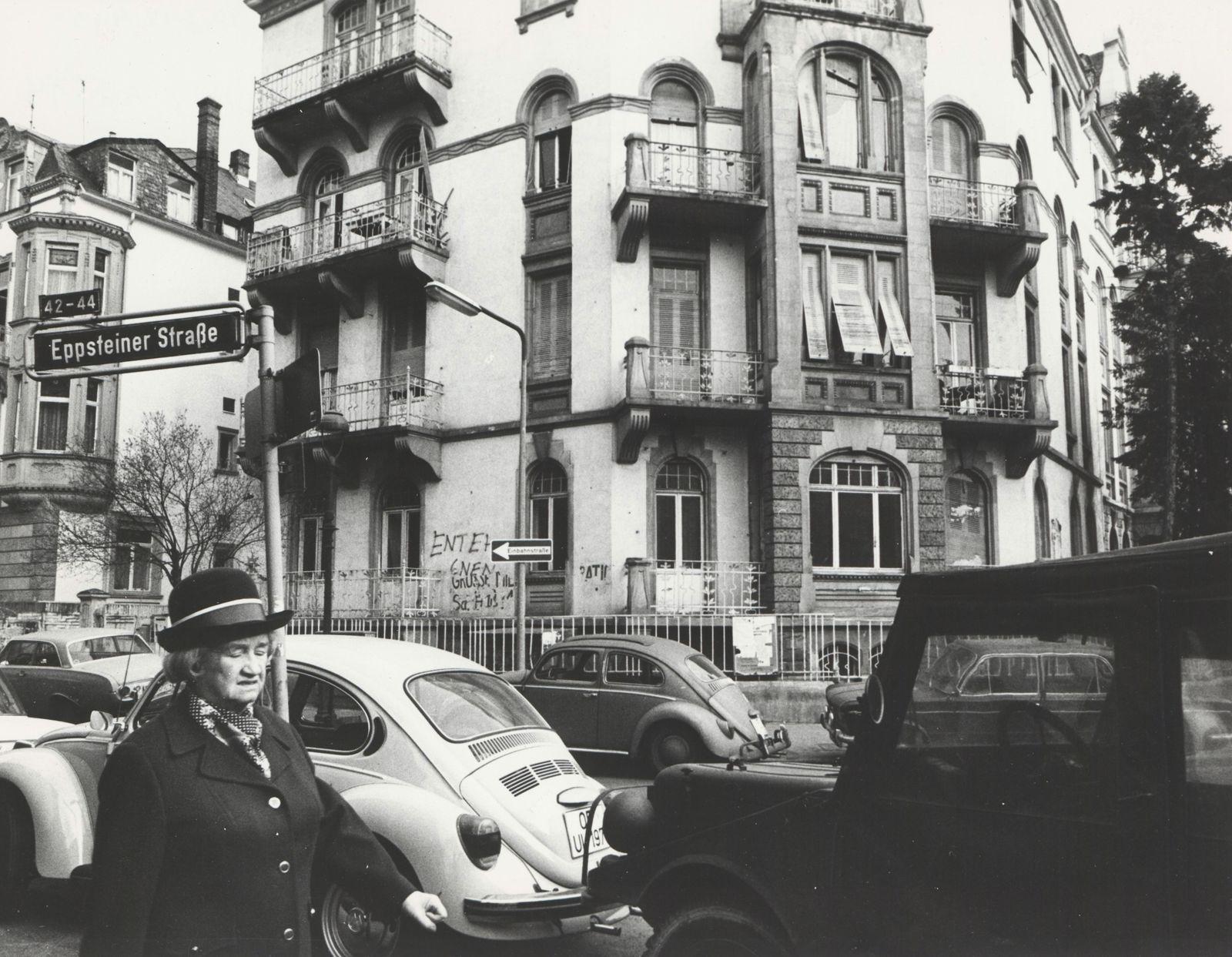 Besetztes Haus im Frankfurter Westend (Eppsteiner Stra?e 47)