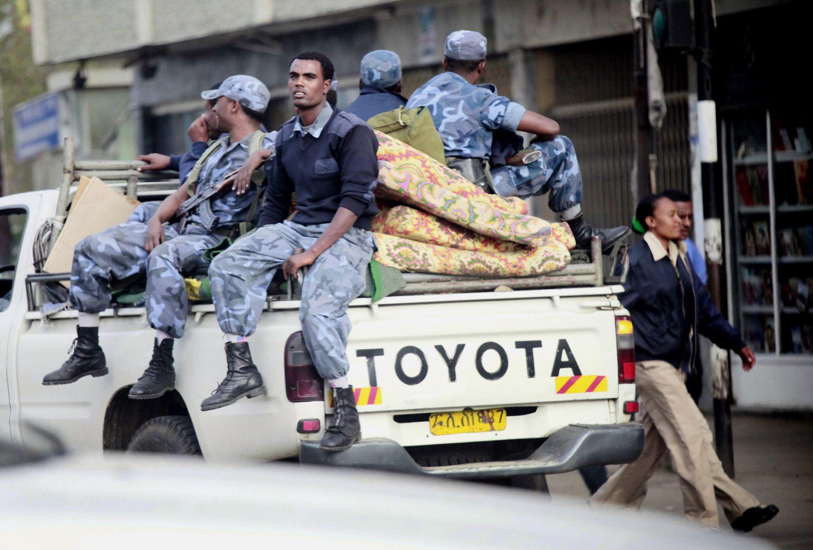 Äthiopien / Polizei