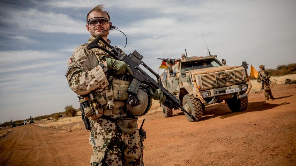 Bundeswehrsoldat in Mali (Archivfoto)