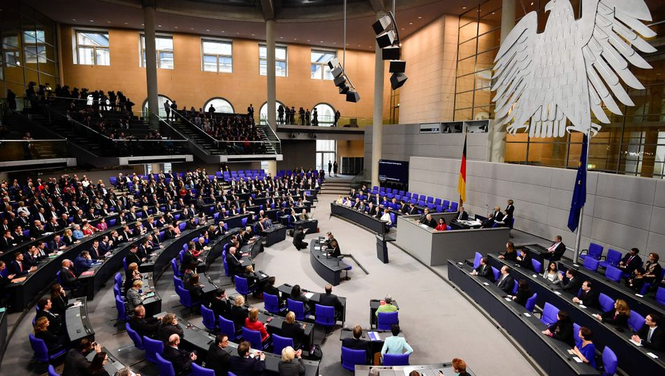 Bundestag (Archivaufnahme)