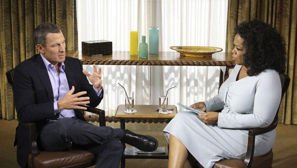 Armstrong, Winfrey: Interview wird in zwei Teilen ausgestrahlt