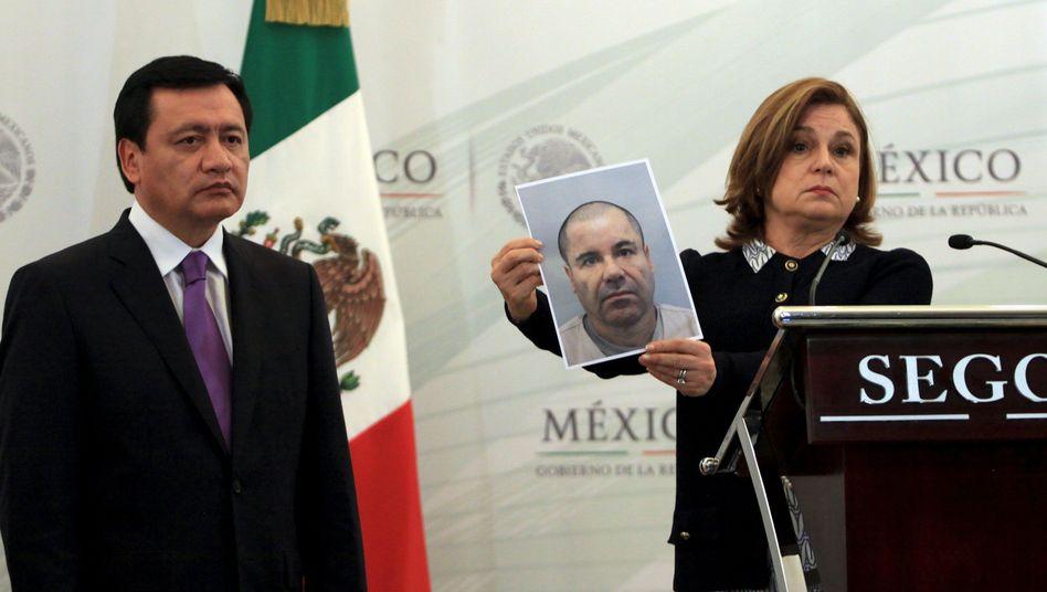 """Fahndungsbild: """"El Chapo"""" ist weiterhin auf der Flucht"""