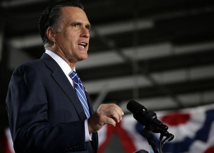 Mitt Romney: Auf der Zielgeraden im Kampf ums Weiße Haus