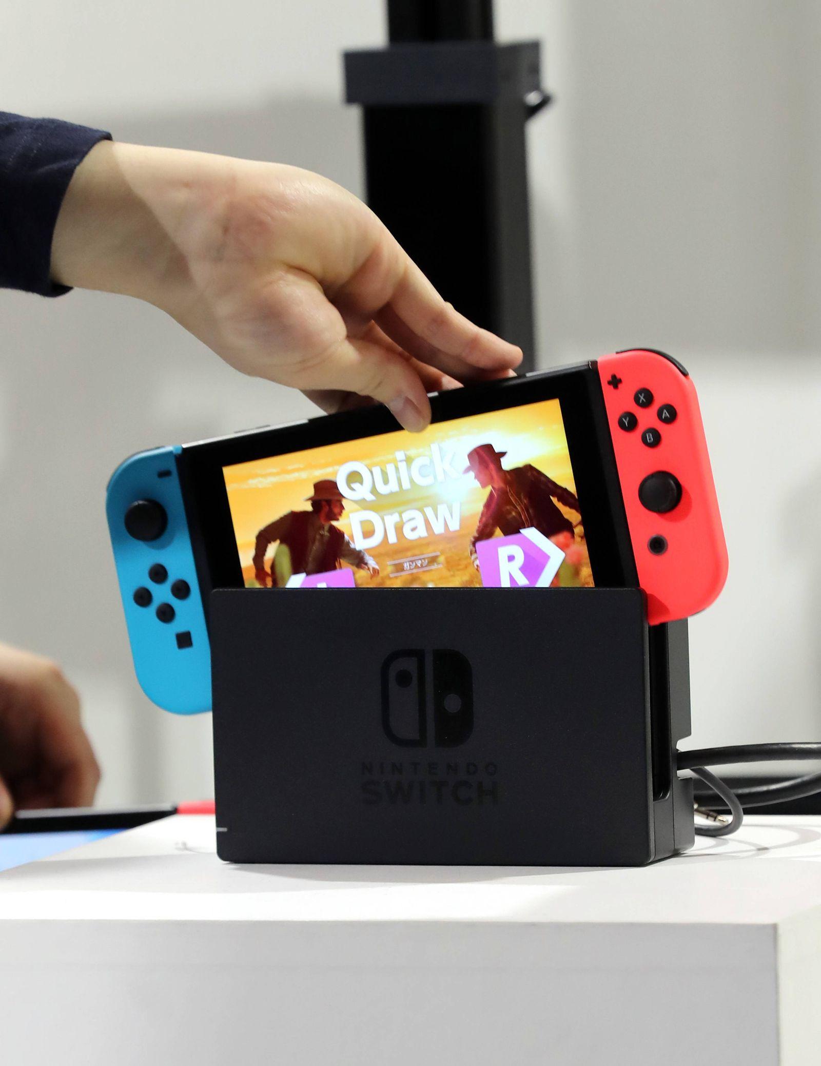 EINMALIGE VERWENDUNG Nintendo Switch