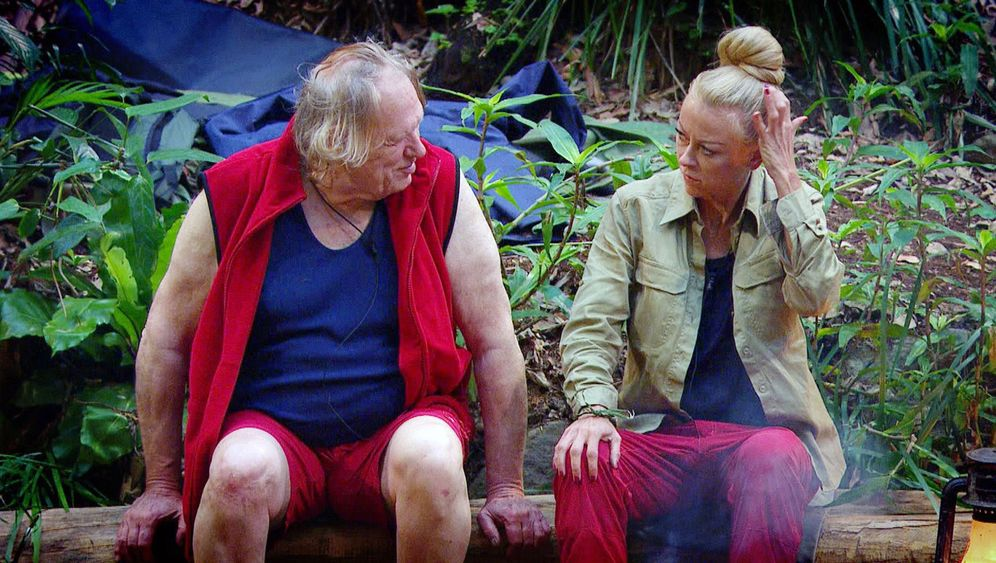 """Dschungelcamp Tag 4: """"Ich war mal in einer Beklopptenanstalt"""""""