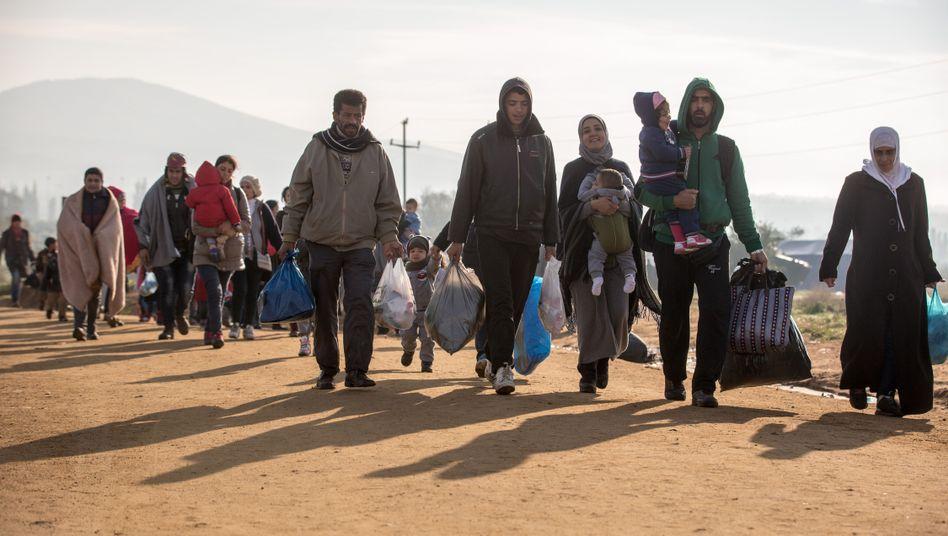 """Flüchtlinge in Serbien: """"Ein Monster-Lager wird es nicht geben"""""""