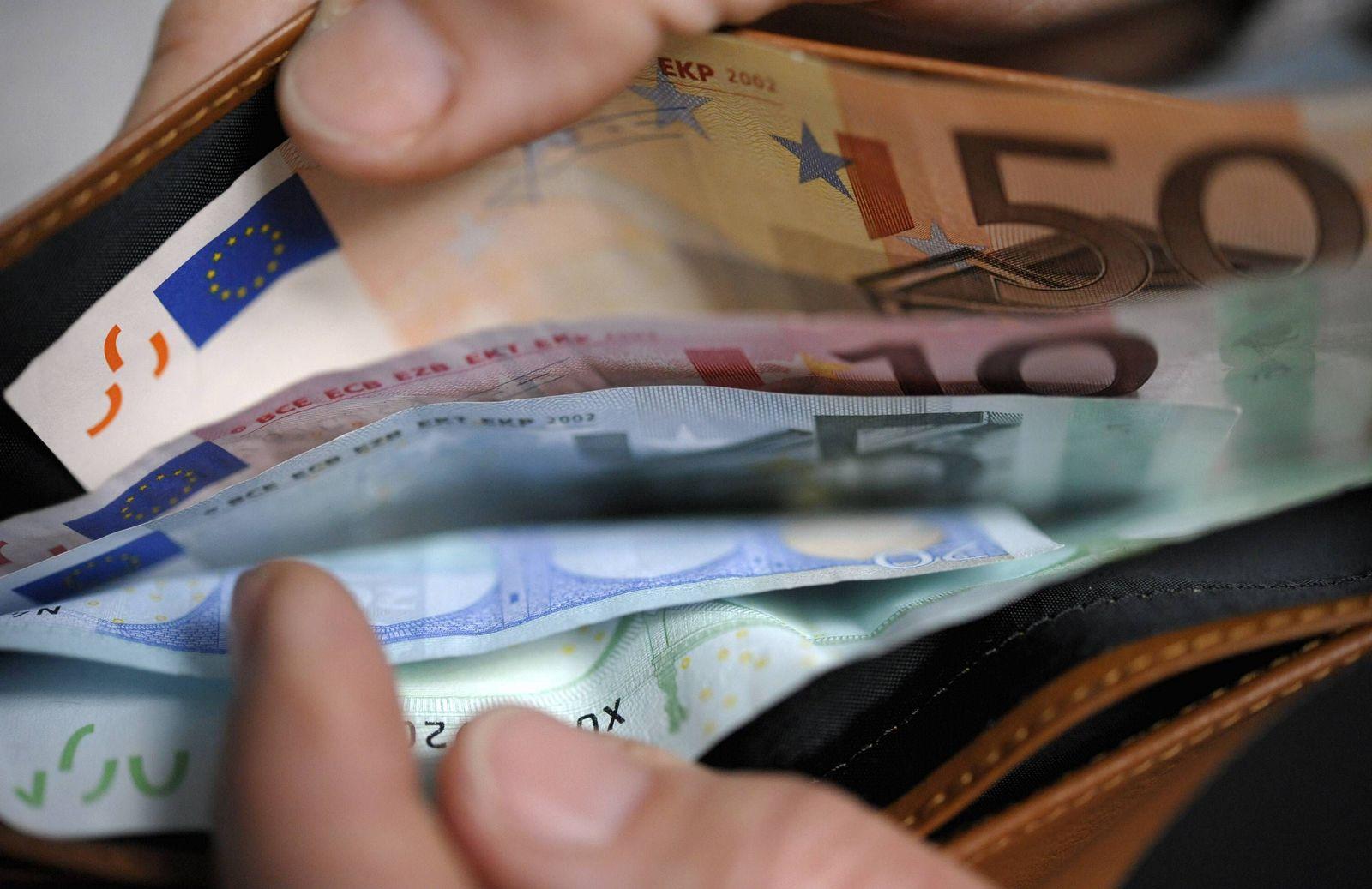 NICHT VERWENDEN Banknoten/ Gehalt