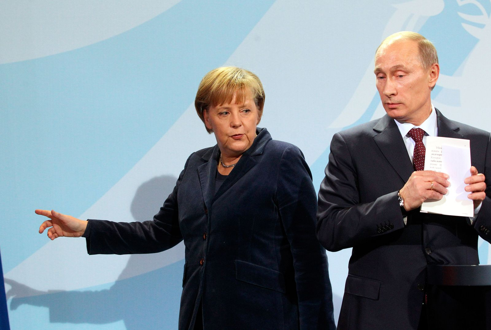 Merkel / Putin / Russland / Import / Sanktionen