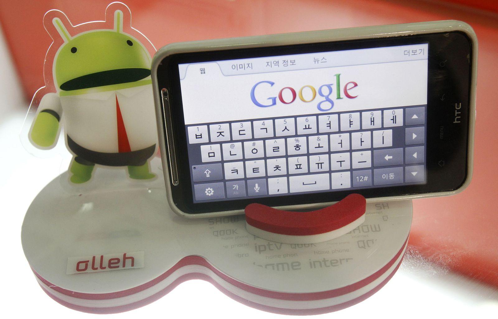 Google Android Smartphone Korea