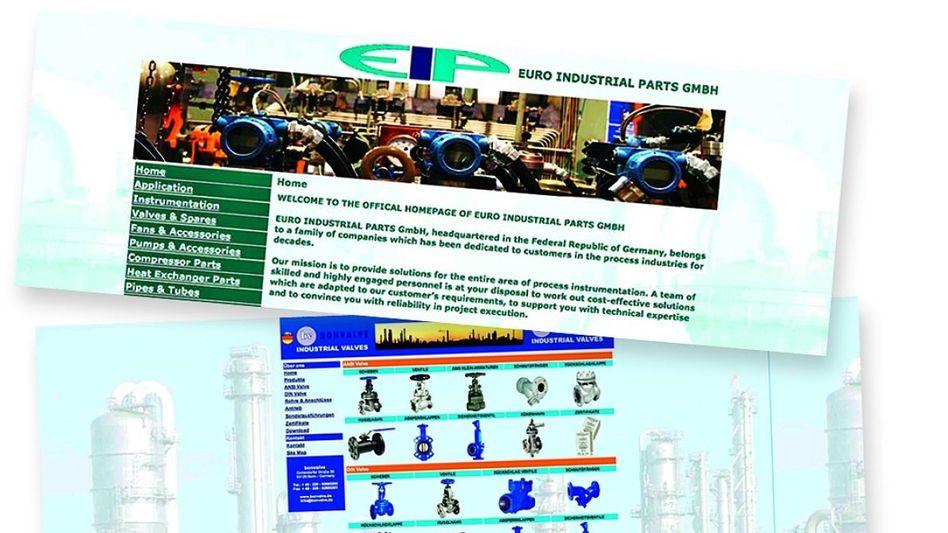Websites deutscher Firmen des Verdächtigen B. Kontrolle von China bis Teheran